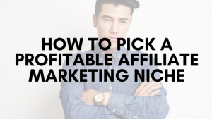 How to Pick a Profitable Affiliate Marketing Niche