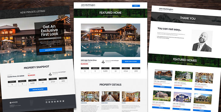 Clikcfunnels Real Estate Funnel