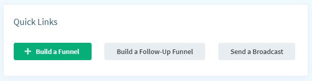Clikfunnels Dashboard Build Funnel
