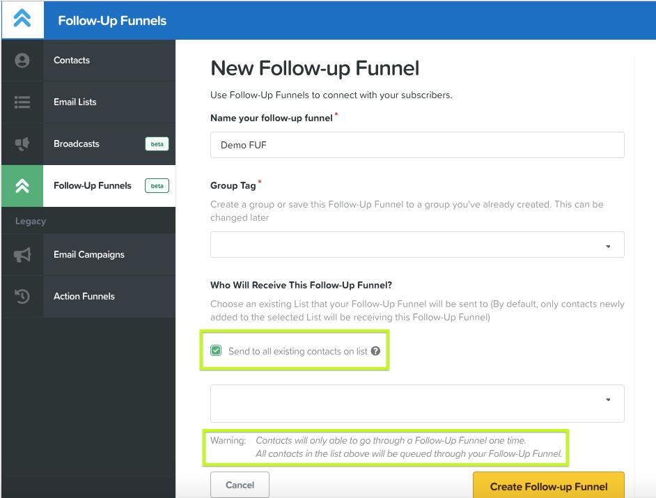Clickfunnels Follow Up Funnels