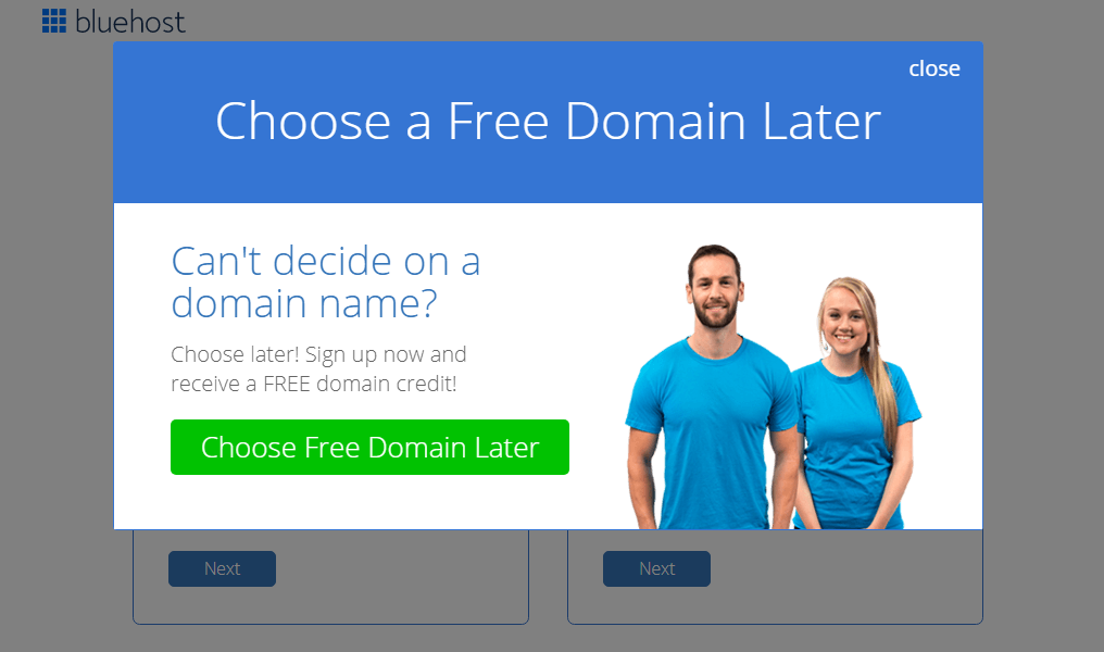 How to Start a Blog Skip Domain Name