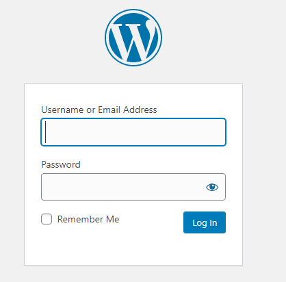 How to Start a Blog Login Area