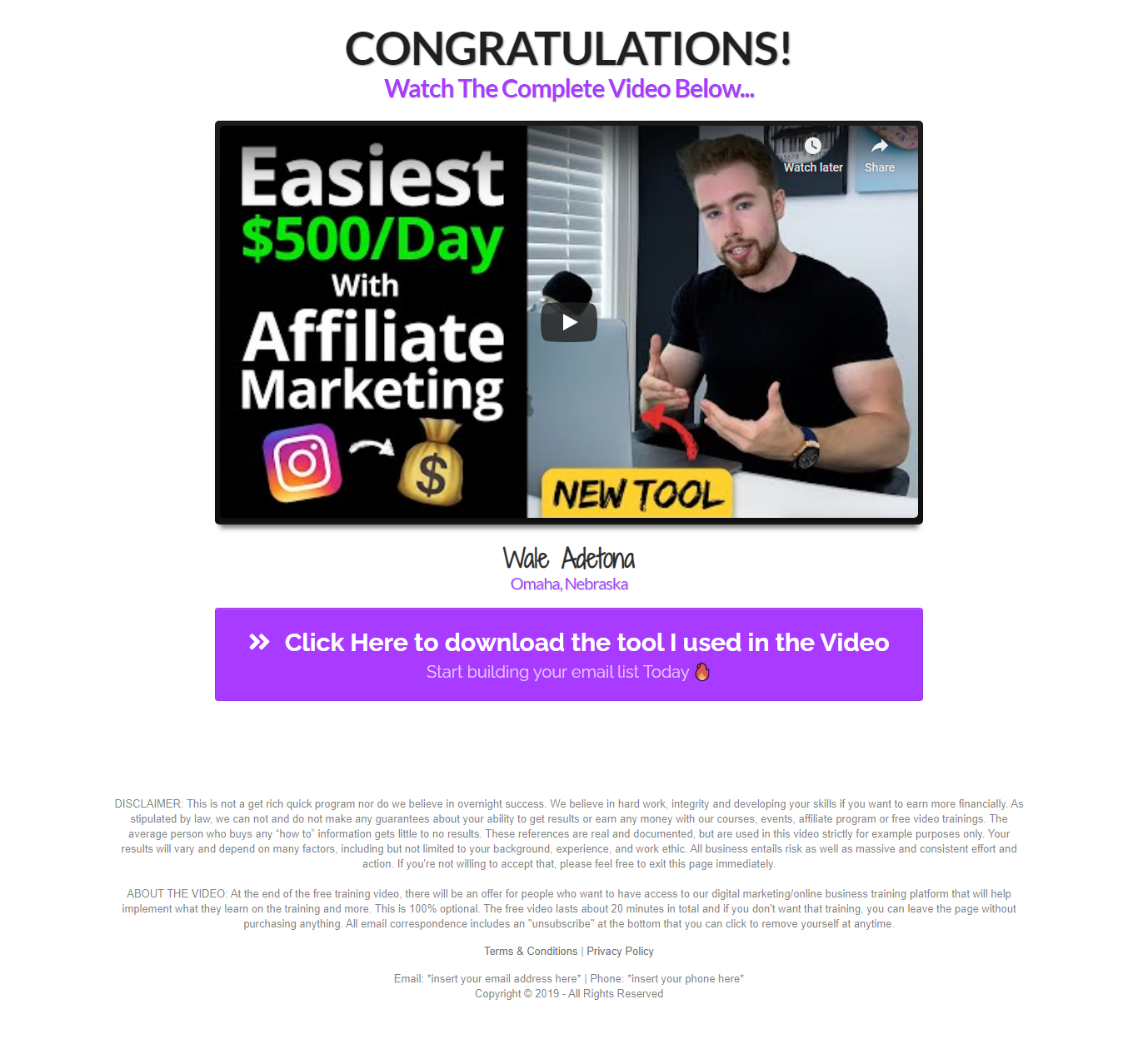 Clickfunnels for affiliate marketing 1a