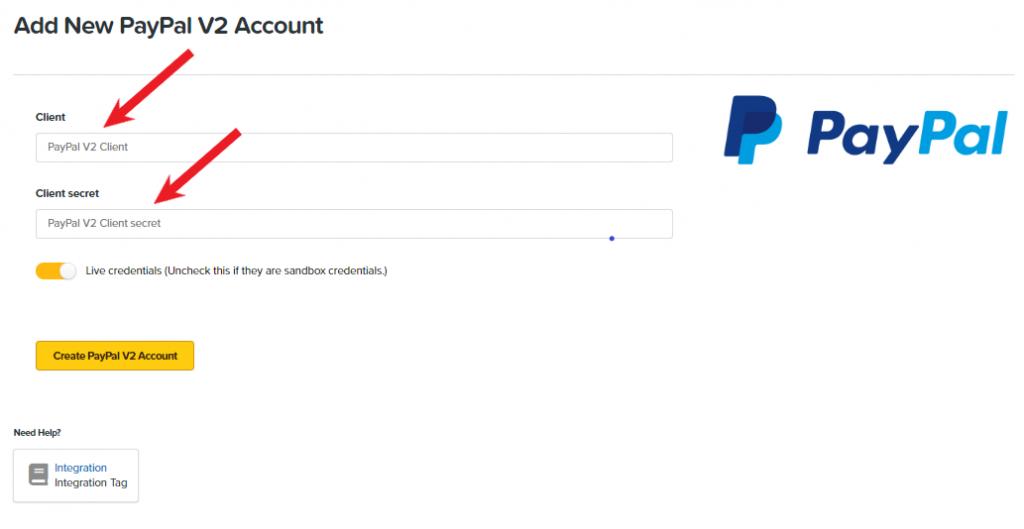 ClickFunnels PayPal Integration